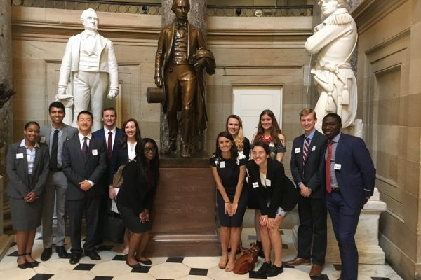 Student Congress visits Henry Clay in Washington D.C.